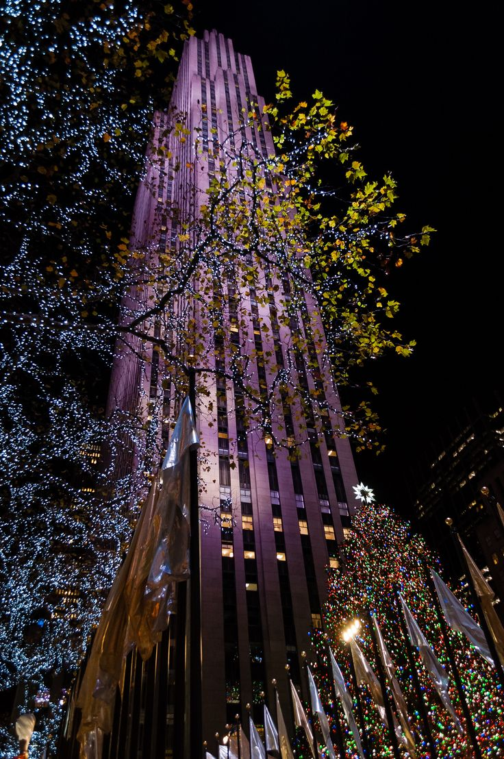 https://flic.kr/p/QeXWF6 | Christmas tree - Rockefeller centre | New York, USA