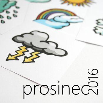 flashcards - počasí