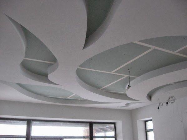 244 best ceiling design gypsum board images on for False roofing designs