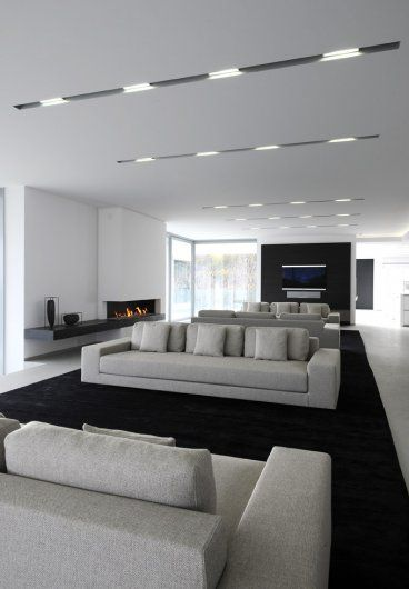 | P | White Living Room - House in France, beautiful Kreon