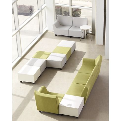 Swoop modular lounge furniture herman miller beautiful colours and love the fluid shape these - Library lounge chairs ...