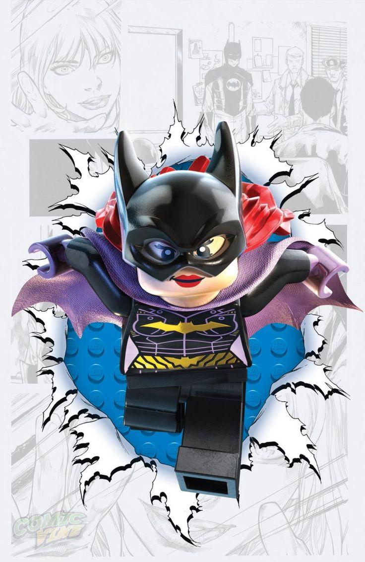Batgirl #36 LEGO variant cover - artist? *