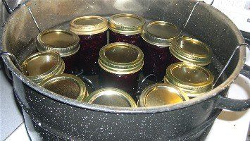 Sweet Cherry Jam Recipe for Canning. Easy step by step waterbath instructions.