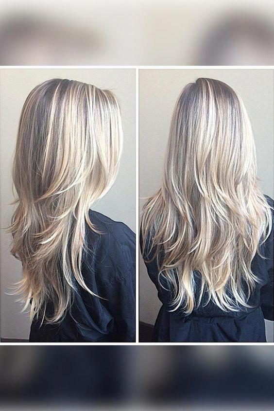 37+ Best Long Layered Hairstyles for Women 2018 – 2019 - iHairstyles Website #bobsforthinhair