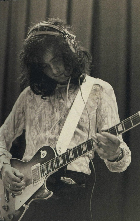 Jimmy Page - working