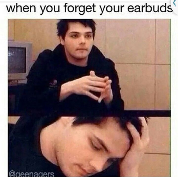 I never let that happen. I'm either late because I miss the but due to get my headphones or I don't go anywhere