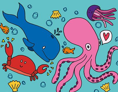 "Check out new work on my @Behance portfolio: ""Blue Planet Aquarium "" http://on.be.net/1GC8LBS"