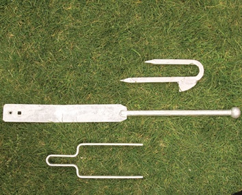 Galvanised Hooks and Bands
