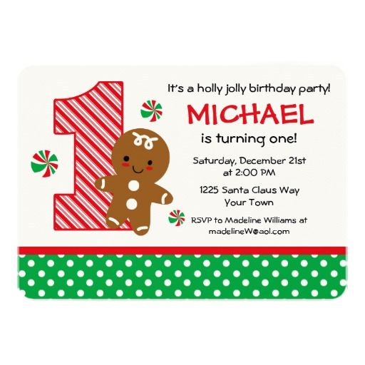 416 best candy birthday party invitations images on pinterest gingerbread boy 1st birthday invitation filmwisefo