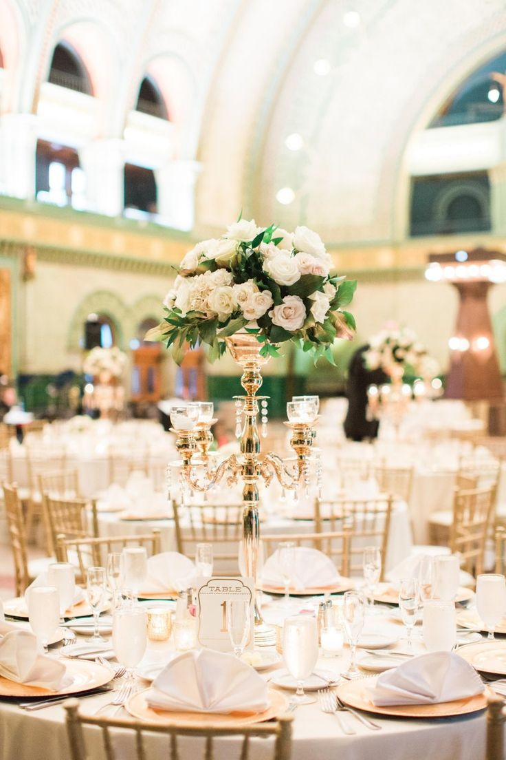 St Louis Union Station Grand Hall for a wedding reception