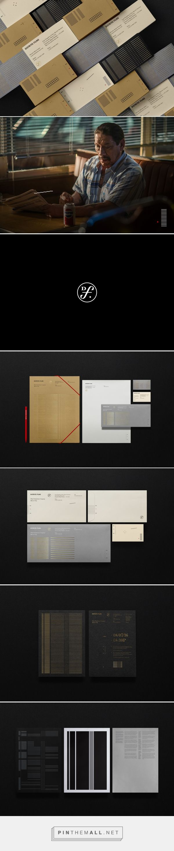 Distrito Films on Behance... - a grouped images picture - Pin Them All