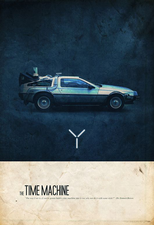 Awesome poster series by Justin Van Genderen, featuring some of the coolest and most iconic cars from the 1980s.    The posters were modeled after old automotive ads from the 60s/70s.