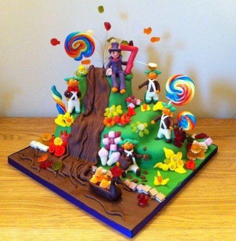 Willy+Wonka+Birthday+Cake+-+Cake+by+Rosy