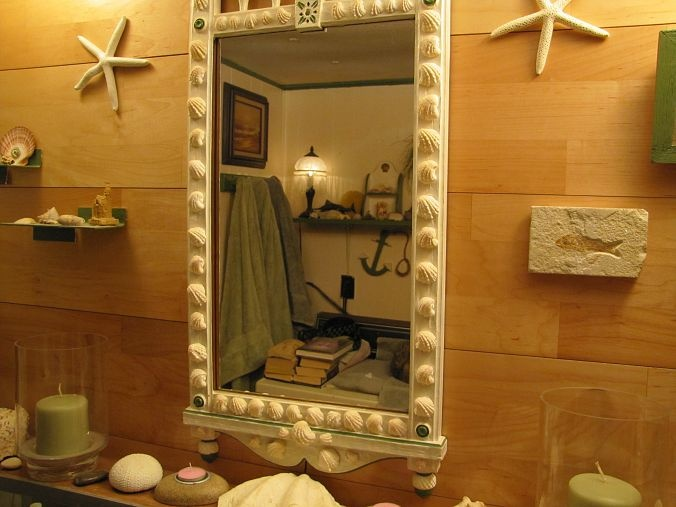 Nautical Bathroom Mirrors: 10 Best Ideas About Beach Themed Bathrooms On Pinterest