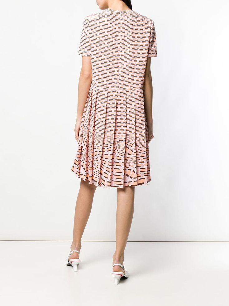 Prada Geometric Printed Dress 13