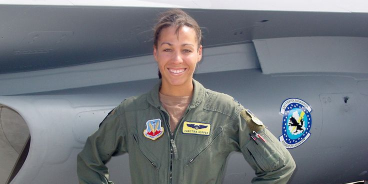 For Maj. Christina Hopper, the first black female pilot to fly a fighter jet in combat, the military was a place of diversity unlike any other.