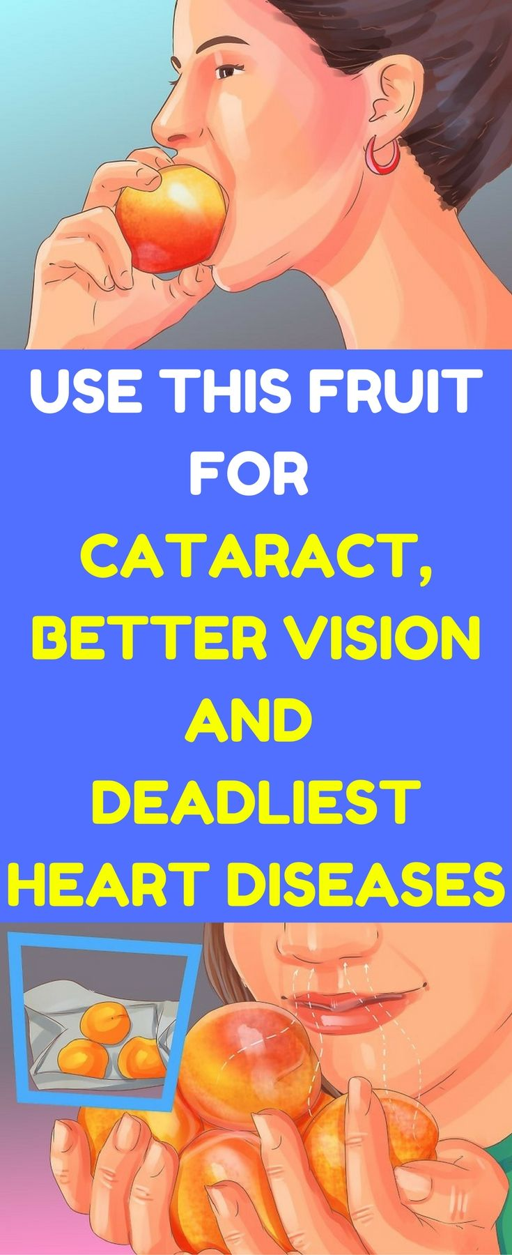 This fruit eliminates cataract, improves vision and helps with deadliest heart diseases.