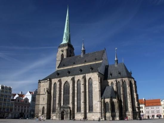 St. Bartholomew Gothic Cathedral, Plzen, Czech Republic