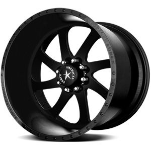 American Force Blade SS8 Solid Flat Black Custom Truck Wheels & Rims