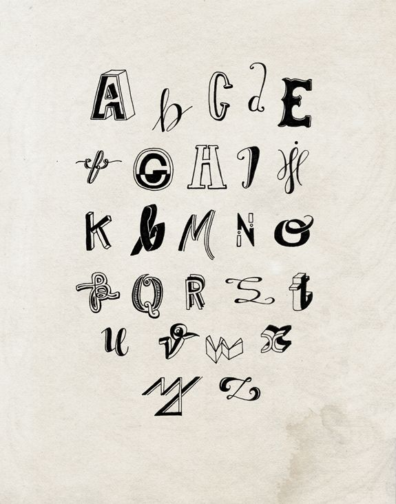 84 best ABC images on Pinterest Typography design, Types - copy purely block style letter format