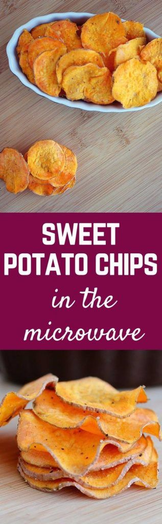 Easy Snacks You Can Make In Minutes - Homemade Sweet Potato Chips - Quick Recipes and Tricks for Making After Workout and After School Snack - Fast Ideas for Instant Small Meals and Treats - No Bake, Microwave and Simple Prep Makes Snacking Fun http://diyjoy.com/easy-snacks- recipes
