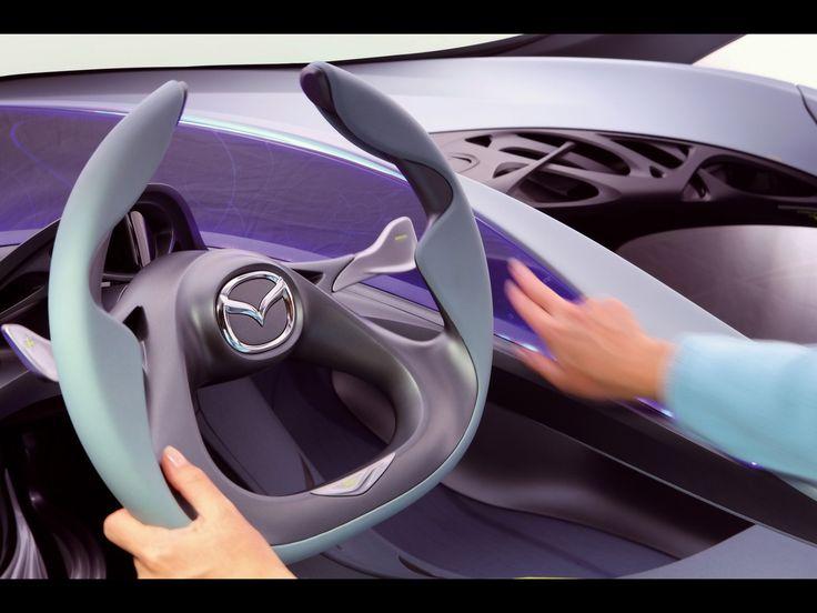 2008 Mazda Kiyora Concept   Steering Wheel 2   1280x960   Wallpaper