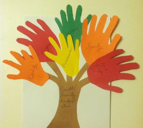 how to make a family tree for preschoolers
