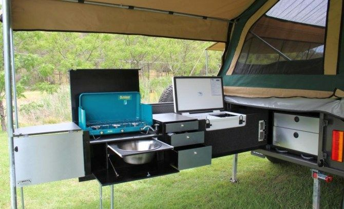 New! All Terrain Tourer - 100% Custom Made 4WD Off Road On Road Camper Trailers and Canopies in Australia - All Terrain Camper Trailers