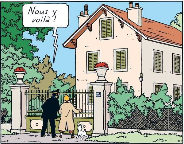 Professor Topolino's house can be seen at Route de St-Cergue 113 at Switzerland. However, it cannot be visited (15 minutes on foot from the station).