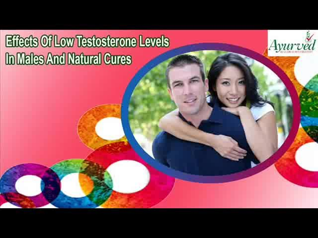 You can find more details about the effects of low testosterone levels in males at http://www.ayurvedresearch.com/natural-testosterone-enhancer-pills.htm  Dear friend, in this video we are going to discuss about the effects of low testosterone levels in males. Musli Kaunch Shakti capsules are the best natural cures for low testosterone levels in male to increase strength and power.