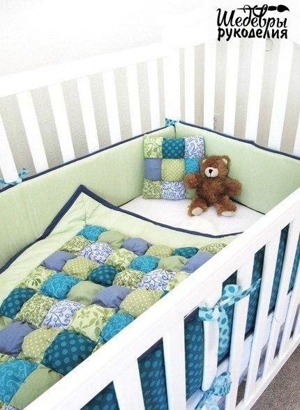 Декор детской кроватки своими руками (5 фото)