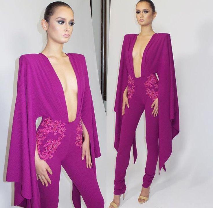 """Michael Costello, """"Sierra"""" kimono jumpsuit"""