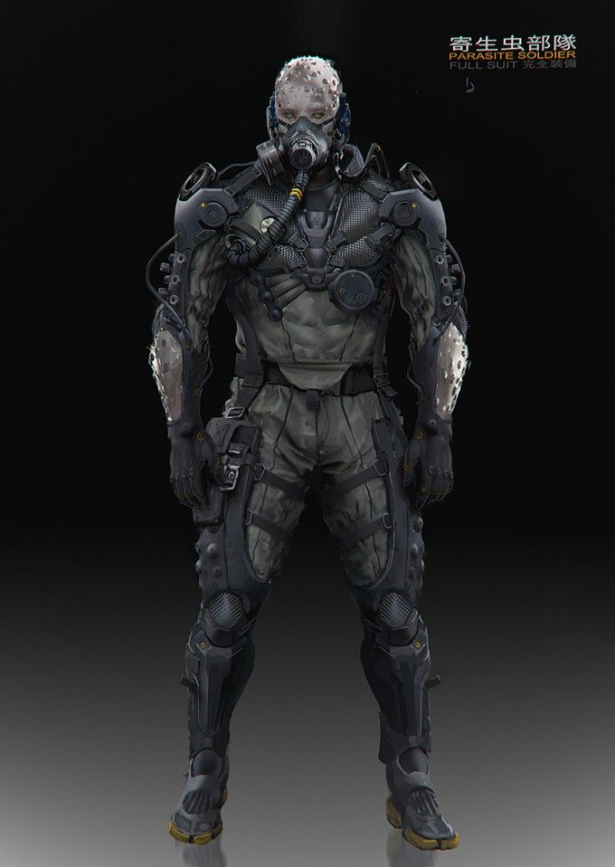 metal gear online concept art by a j trahan via concept