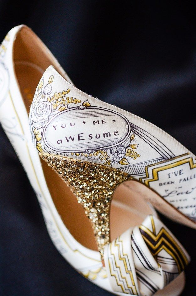 If you want to show some personality with your wedding footwear, you will love…