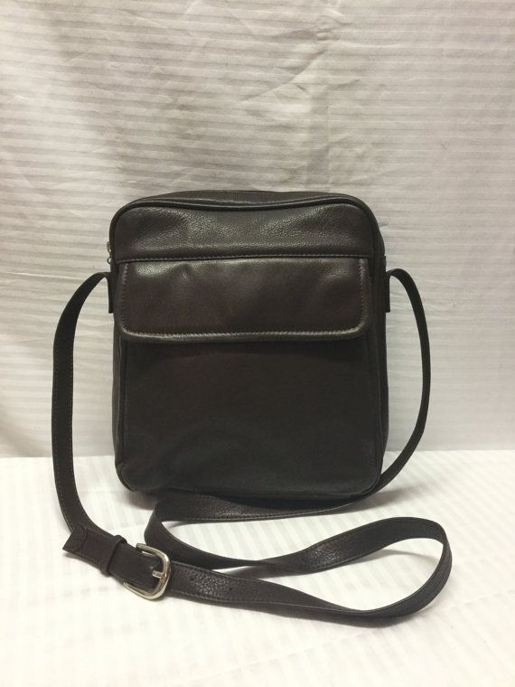 Wilsons Leather bag, Bags ,Purses, Brown Leather, Shoulder Bag, mans bag