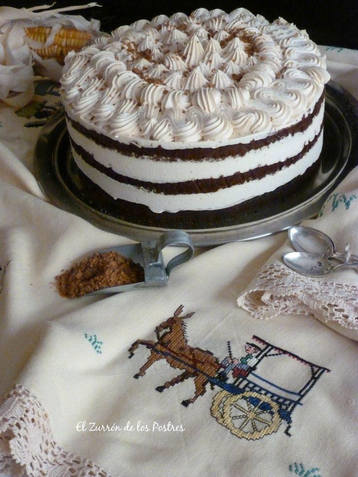 Hice esta tarta para la quedada Bloguera de Gran Canaria. Nos reunimos el 17 de septiembre´16 en Teror, en la Finca de Osorio , un sitio in...