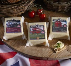 Westminster Cheddar - A range of hand crafted #Cheddar made on the farm just a few miles away from Cheddar in #Somerset, #UK. #EnglishCheese #EnglishCheaddar #Australia #lovechesse