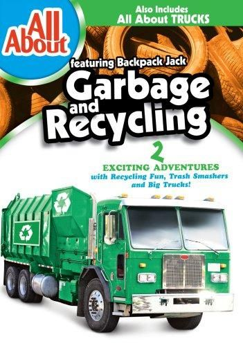 Backpack Jack & Hard Hat Harry & DIC Entertainment-All About Garbage & Recycling