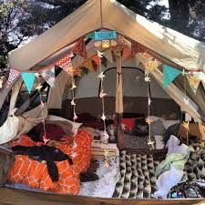 Image result for festival campsite decorations