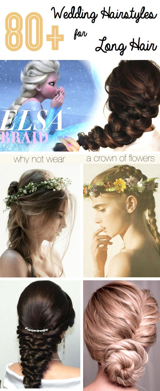 80+ Wedding Hairstyles For Long Hair That Will Make You Feel Like A True Princess - The wedding day is undoubtedly one of the most important events in the life of every woman, and we have all dreamed about it ever since we were kids. If you want to shine on your special day and feel like the only girl in the world, then here you will find some of the best weeding hairstyles for long hair!