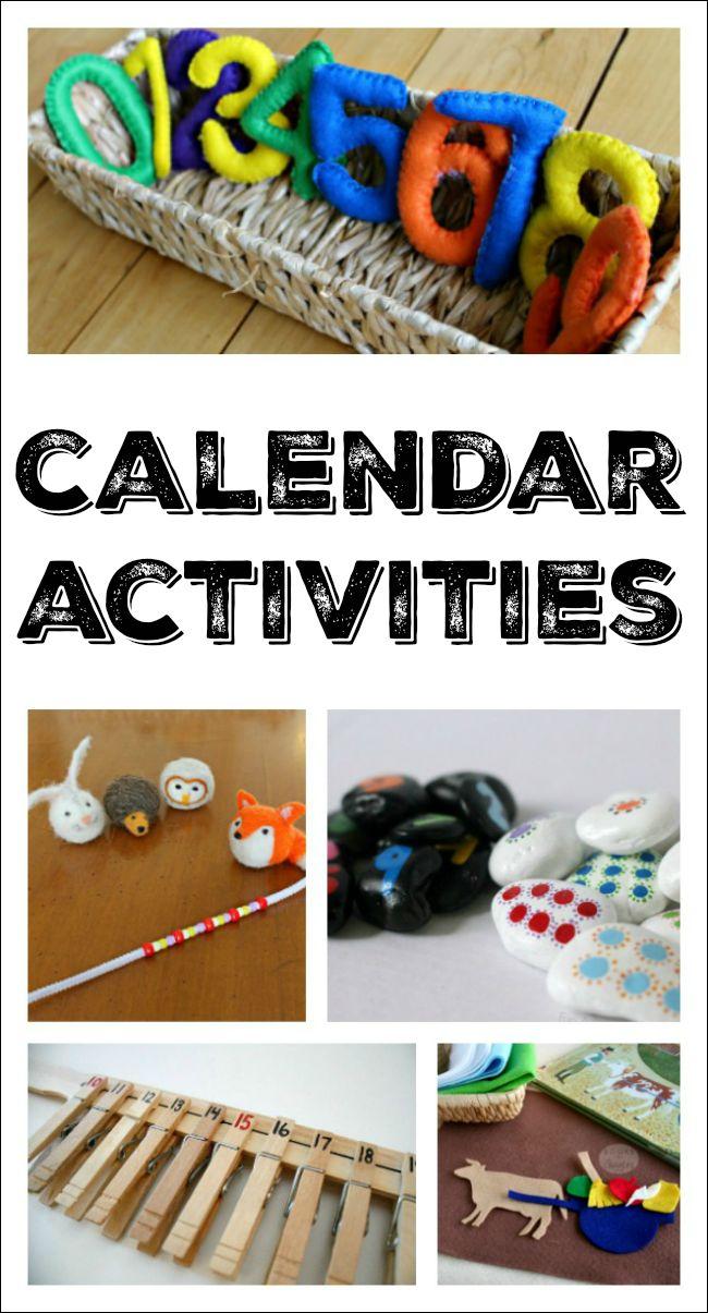 Calendar Ideas For Teachers : Best ideas about calendar activities on pinterest