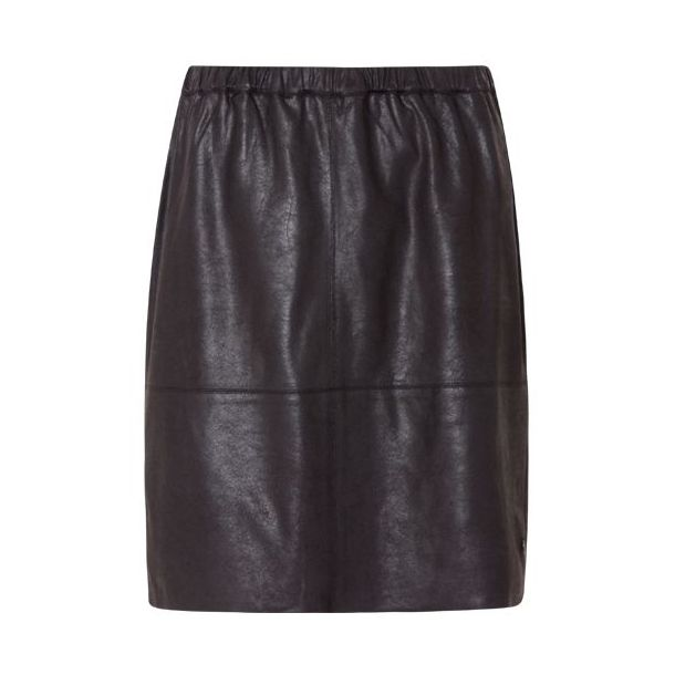 Coster Copenhagen Coated Skirt Black