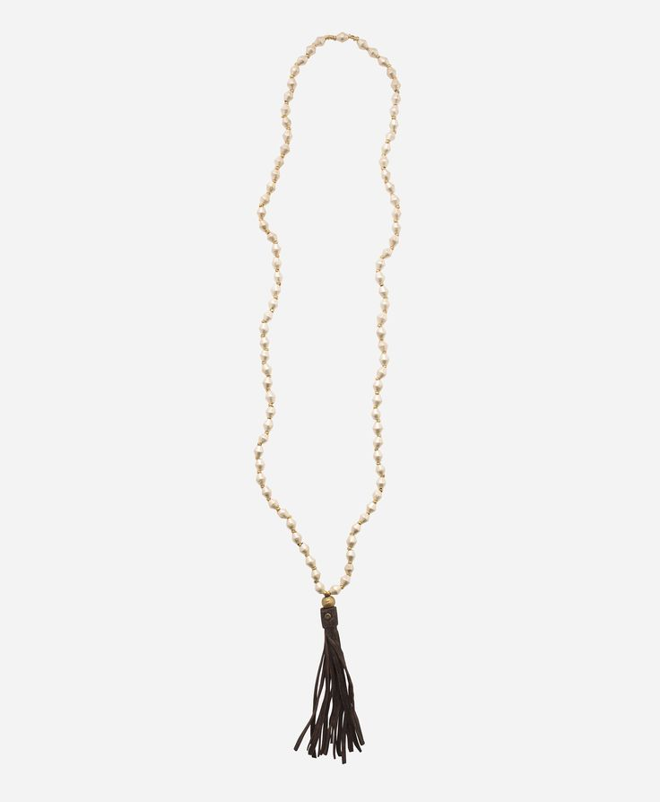 Tesfanish Tassel Necklace - Noonday Collection