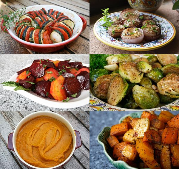 Thanksgiving Sides - A collection of THanksgiving side dishes from Italian Food Forever