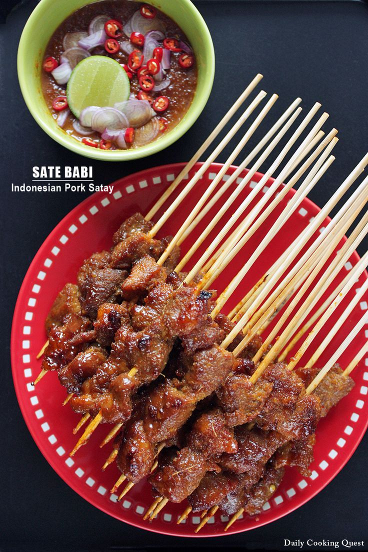 Sate Babi – Indonesian Pork Satay