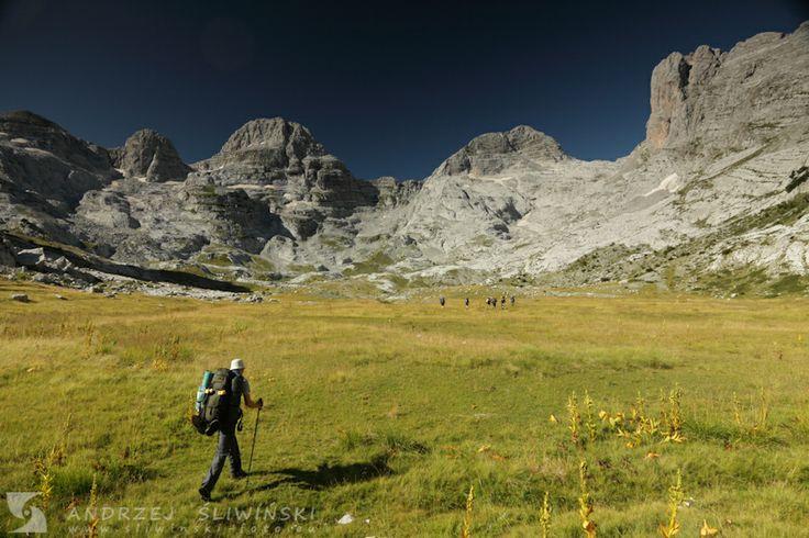 Trekking in the Prokletije Mountains (Albania). #mountainphotography