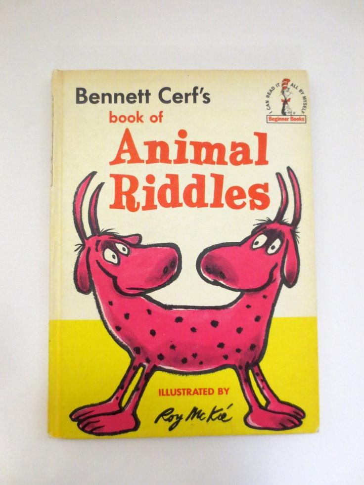 Bennett Cerf's Animal Riddles (1964) by Bennett Cerf - Vintage Childrens' Books