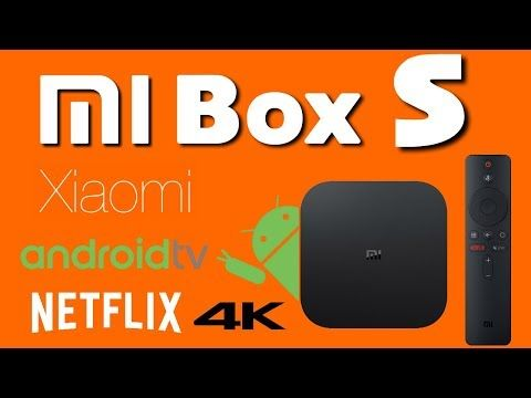 Xiaomi Mi Box S Android Android 8 1 4K TV Box Review