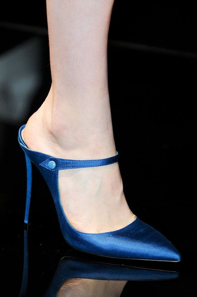 Alberta Ferretti Spring 2013.  If only I could still wear shoes like this.  Oh the joys of being young.