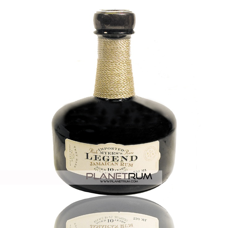 Myers's Legend 10 Years. Myers's Legend is a 100% Jamaican pot still rum, which has been aged for at least 10 years
